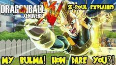 Dragon Ball Xenoverse: Z-Soul Items Explained! MY Bulma, HOW DARE YOU?!