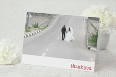We do. - Thank You Card by MagnetStreet