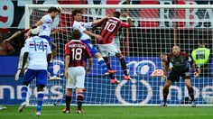 AC Milan's new-look side failed to impress as they lost to Sampdoria 1-0 in their season-opener at home on Sunday.    Andrea Costa scored the only goal of the game in the 58th minute and Rossoneri were unlucky to hit the woodwork twice.