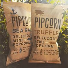 So excited to finally try #pipcorn!!!  @pipsnacks #food #foodporn #popcorn