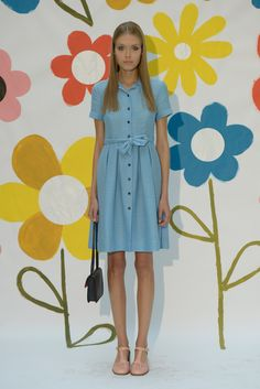 Orla Kiely Spring 2015 Ready-to-Wear - Collection - Gallery - Look 1 - Style.com