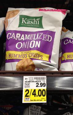 kashi hummus crisps | Kashi Hummus Crisps ONLY $1.00 at Kroger! - Kroger Krazy