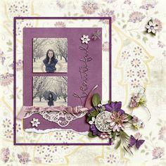 My beautiful niece, Rachel.    Kit:  Sweet, Beautiful Life by LDrag Designs  Template:  Torn n Adorned Vol 2 by Keepscrappin Designs