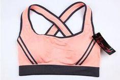 Women Running Seamless Racerback Sports Bra Fitness Clothes Tennis Vest Camisole
