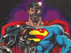 'Supergirl' executive producer Andrew Kreisberg offers a glimmer of a spoiler about Cyborg Superman, appearing in a Season 2 episode. Cyborg Superman, Superman News, Superman Comic, Superman Artwork, Batman, Star Wars Manga, Online Comic Books, Action Comics 1, Arte Dc Comics