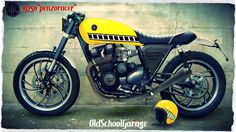 YAMAHA # XJ 750 # CAFE RACER # OLD SCHOOL GARAGE #VINTAGE RACER MOTORCYCLES