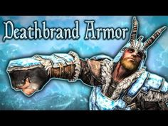 Skyrim SE - Deathbrand Set - Unique Armor Guide - YouTube Skyrim Dragon, Dragon Age, Geek Culture, Skyrim Tips And Tricks, Elder Scrolls Skyrim, Game Info, Pop Figures, Mass Effect, Mortal Kombat