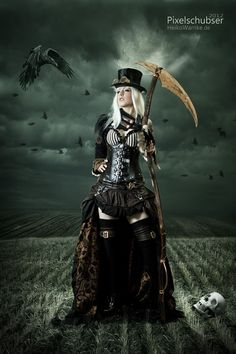 coração negro — steampunk-girl:    Steampunk Girl  Steampunk Girl...