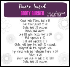 A quick and fun way to torch your lower body. Get in a barre workout outside the studio. A quick and fun way to torch your lower body. Get in a barre workout outside the studio. Weight Lifting Workouts, Toning Workouts, Fun Workouts, Studio Workouts, Circuit Workouts, Fitness Workouts, Pilates Reformer Exercises, Pilates Barre, Glute Exercises