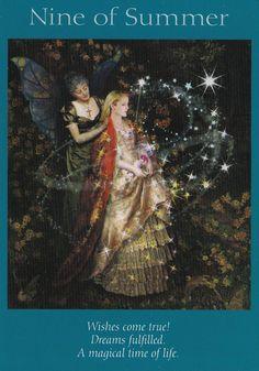 Fairy Tarot Cards NINE OF SUMMER | Doreen Virtue