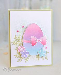 Kay Miller's Easter egg—Poppystamps