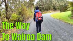Wairoa dam, Hunua ranges regional park Wairoa Dam, completed in is one of a series of rolled earth water supply dams in Auckland's Hunua Ranges. Water Supply, No Way, Auckland, Ranges, New Zealand, Travel Guide, Earth, City, Cities