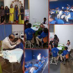 Dental Camp conducted by The Dental Hub at Kunskapsskolan School, Gurgaon.  #dentalcheckup #dentalcamp #kunskapsskolanschoolgurgaon