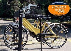 """Presso l'ufficio IAT Modena puoi richiedere la chiave per utilizzare gratuitamente le biciclette """"c'entro in bici"""" (max 3 giorni, fino alle ore 24.00)"""