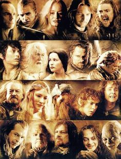Really...everyone in Lord of the Rings except for maybe 2 characters. (Movie and books)