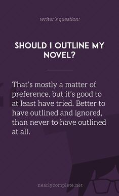 3 reasons why you should outline your novel. Writing Classes, Book Writing Tips, Writing Lessons, Dialogue Prompts, Writing Prompts, I Am A Writer, Writer Quotes, Write It Down, Writing Inspiration
