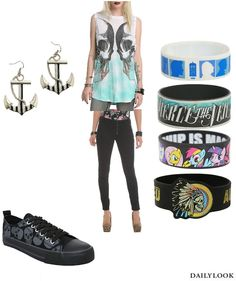 Hot Topic outfit