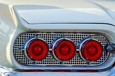1960 Ford Thunderbird Taillights