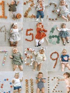 Baby Milestone Chart, Baby Milestone Blanket, Monthly Baby Photos, Newborn Baby Photos, Pregnancy Monthly Pictures, New Baby Photos, Milestone Pictures, Baby Newborn, Baby Monat Für Monat
