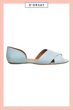 Your toes will feel anything but blue in this pretty pair. #refinery29 http://www.refinery29.com/best-summer-flats-under-50-dollars#slide-4