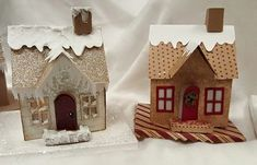 Tim Holtz Houses