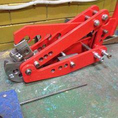 Ручной трубогиб BigBender Mk3 / BigBender Mk3 manual bender Garage Workshop, Bending, Manual, Steel, Tools, Silver, Projects, Metal, Garage