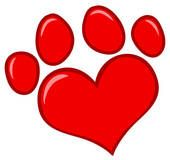 Dog paw print Clipart and Illustration. 533 dog paw print clip art vector EPS images available to search from over 15 royalty free stock art...