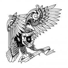 Garuda doodle ornament illustration, tattoo and tshirt design Premium Vector Design Vector, Vector Art, Logo Design, Wallpaper Hp, Eagle Vector, Batik Pattern, Vector Photo, Sketch Design, Line Drawing