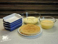 "Secretele bucatariei noastre: CLATITE BANATENE SAU ""CA LA ANA LUGOJANA"" Feta, Pudding, Cake, Desserts, Postres, Recipes, Mudpie, Flan, Pie"