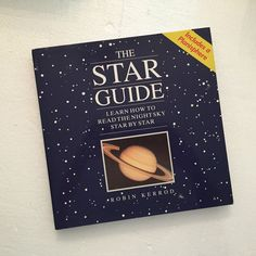 The Star Guide by Robin Kerrod – Planisphere Included HC, DJ Like New ~S93