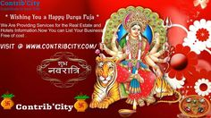 Durga Puja a decorative Aarti Thali holds a great importance. There are several Aarti Thali decoration ideas for Maa Durga puja. Wish You All Happy Navratri Maa Image, Maa Durga Image, Durga Maa, Durga Goddess, Navratri Greetings, Happy Navratri Wishes, Happy Navratri Images, Navratri Image Hd, Chaitra Navratri