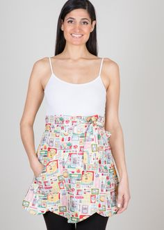 Happy Baking with this lovely tulip style apron. Loving this print $38.00
