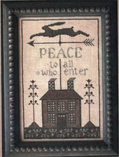 Peace House~ I love this !!!