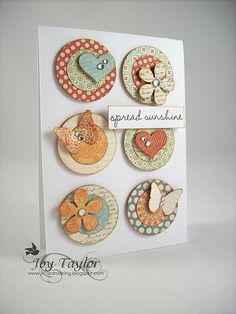 I love this one. This template for a design could be adapted to so many occasions