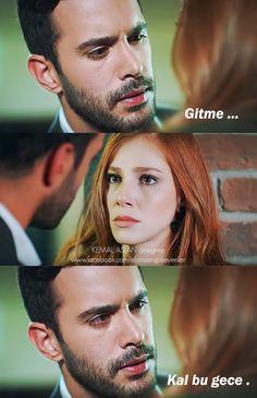 """Kal bu gece"" The Best Series Ever, Elcin Sangu, Big Love, Turkish Actors, Film Movie, My Images, Cute Couples, Barista, Tv Series"