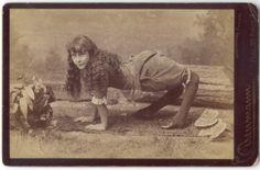 "Ella Harper, ""The Camel Girl"" b1873-?~ http://www.sepiachord.com/index/ella-harper-the-camel-girl-b1873/"