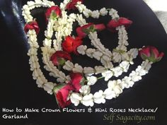 Mehndi Flower Garlands : Bridal flower gajray set garland mehndi fresh