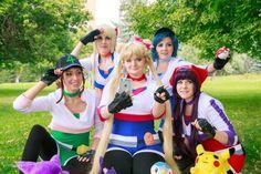 'Pokémon Go' And 'Sailor Moon' Get A Crossover Cosplay