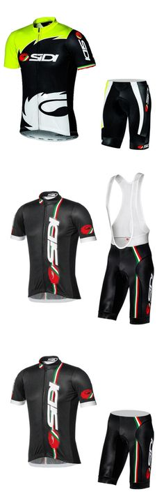 [Visit to Buy] NEW Cycling team jersey bike shorts set Ropa Ciclismo mens summer pro cycling wear ride maillot Culotte customize clothes #Advertisement