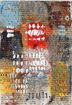 Recknagel #art #collage #newartwork #modernart #mixedmediaart #text #image #narrative