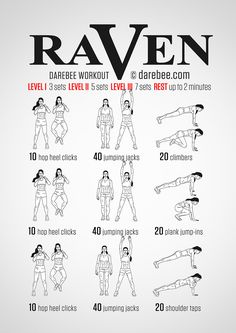 Raven Workout