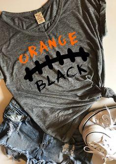 Orange and black football SVG PDF PNG Dxf Design