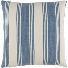 Add a bolstered touch and stylish pattern to any room in your home with this beautiful throw pillow cover. Crafted from 100 percent cotton, this woven piece draws in the eye with its bold stripe motif and color. The plush design and textural detail is perfect for complementing an already Zen atmosphere or a cozy seating space. Create a resort-worthy guest suite for overnight guests and finish it off with this throw pillow. Start by painting the walls a very light beige or gray hue with white…