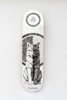 High Quality & Stellar Design SOVRN Skates New Decks! - http://www.cvltnation.com/sovrn/
