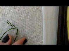 Muşabak Tekniği | Berrin Şengöz ile Teknikler | Hobi Sitesi - YouTube Embroidery Techniques, Youtube, Needlepoint, Youtube Movies