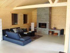 """Stylische """"Casa Survesta"""" mit 8 Betten in Lumbrein, Val Lumnezia, Schweiz. Hier buchen !"""
