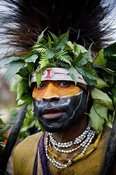 Photo taken by Eric Lafforgue | Papua New Guinea , Highlands, Mount Hagen festival singsing
