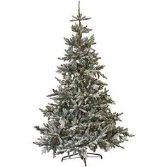 Martha Stewart Living? Snowy Norwegian Spruce Pre-Lit Artificial Tree ($449) ❤ liked on Polyvore featuring home, home decor, holiday decorations, christmas, blue christmas tree topper, lighted star christmas tree topper, tree branch centerpieces, star tree topper and lighted tree topper