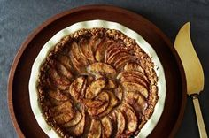 Mixed Apple Pie with Hazelnut Crumb Crust and Maple Cream Recipe on Food52 recipe on Food52