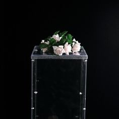 Clear Acrylic Pedestal Risers | Transparent Acrylic Display Boxes | TableclothsFactory Table Top Display, Display Boxes, Acrylic Box, Clear Acrylic, Wedding Centerpieces, Wedding Decorations, Acrylic Display Case, Box With Lid, Different Light